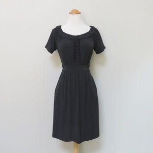 LBD - Little Black Dress - Pleated Bodice XS/S